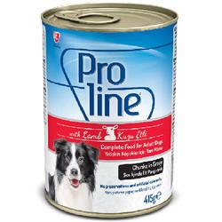 ProLine - Proline Kuzu Etli Sos İçinde Et Parçalı Köpek Konservesi 415 Gr