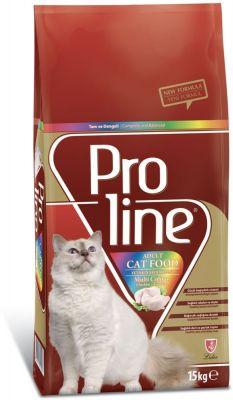 ProLine Renkli Taneli Yetişkin Kedi Maması 15 Kg