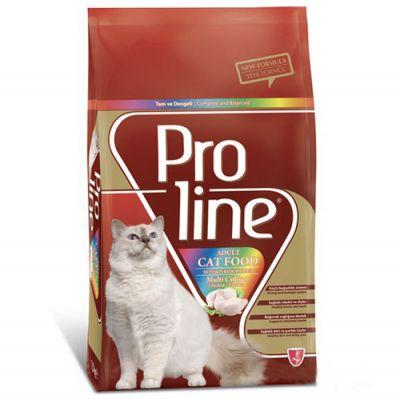 ProLine Renkli Taneli Yetişkin Kedi Maması 500 Gr