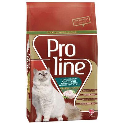 ProLine Sterilised Tavuk Etli Kısırlaştırılmış Kedi Maması 1,5 Kg
