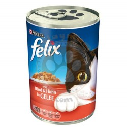 Felix - Purina Felix Sığır Etli ve Tavuklu Kedi Konservesi 400 Gr