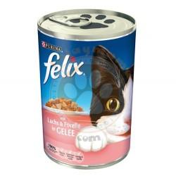 Felix - Purina Felix Somon ve Alabalıklı Kedi Konservesi 400 Gr