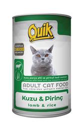 Quik - Quik Adult Kuzu Etli Yetişkin Kedi Konservesi 415 Gr