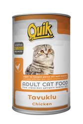 Quik - Quik Adult Tavuk Etli Yetişkin Kedi Konservesi 415 Gr