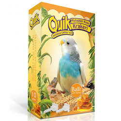 Quik - Quik Ballı Muhabbet Kuşları İçin Kraker (10 Adet)