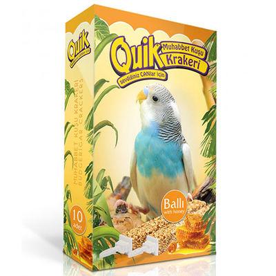 Quik Ballı Muhabbet Kuşları İçin Kraker (10 Adet)
