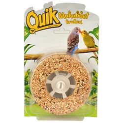 Quik - Quik Ballı Muhabbet Kuşu Krakeri Simit 120 Gr