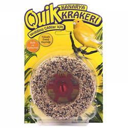 Quik - Quik Ballı ve Yumurtalı Kanarya Krakeri Simit 120 Gr