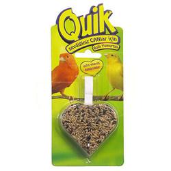 Quik - Quik Kanarya Ballı Yumurtalı Kalp Krakeri 40 Gr