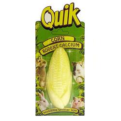 Quik - Quik Kemirgen Kalsiyumu Mısır Şekilli Kalsiyum Bloğu 10 Cm
