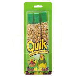Quik - Quik Meyveli Muhabbet Kuşu Krakeri 3x40 Gr (3lü Paket)