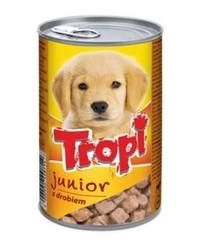 Tropi - Tropi Puppy Tavuk Etli Yavru Köpek Konservesi 415 Gr