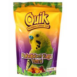 Quik - Quik Vitaminli Muhabbet Kuşu Yemi 400 Gr