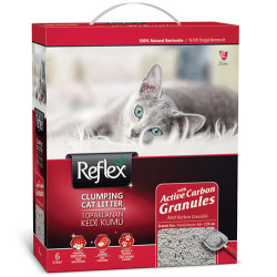 Reflex - Reflex Activated Carbon Koku Kontrolü Granüllü Kedi Kumu 6 Lt