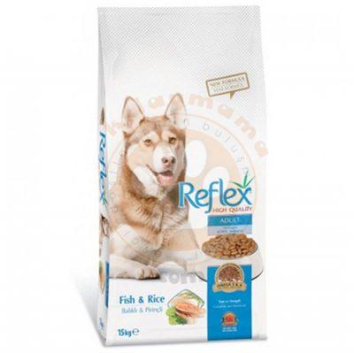 Reflex Balıklı Yetişkin Köpek Maması 15 Kg + 10 Adet Temizlik Mendili