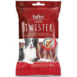 Reflex - Reflex Chewing Twister Kümes ve Av Hayvanlı Burgu Köpek Ödülü 100 Gr