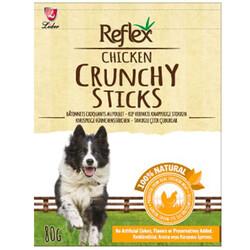 Reflex - Reflex Chicken Crunchy Sticks Tavuk Çıtır Çubukları Köpek Ödülü 80 Gr