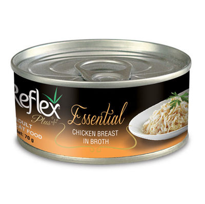 Reflex Essential Tavuk Göğüslü Et Suyu Kedi Konservesi 70 Gr