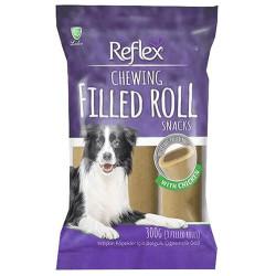 Reflex - Reflex Chewing Filled Roll Snacks Dolgulu Çiğnemelik Köpek Ödülü 275 Gr