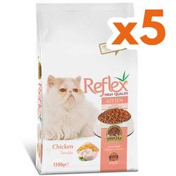 Reflex - Reflex Kitten Tavuklu Yavru Kedi Maması 7,5 Kg