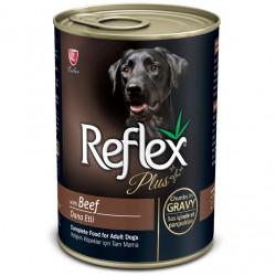 Reflex - Reflex Plus Gravy Biftekli Parça Etli Köpek Konservesi 400 Gr