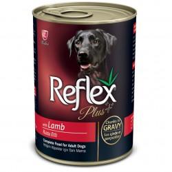 Reflex - Reflex Plus Gravy Kuzulu Parça Etli Köpek Konservesi 400 Gr