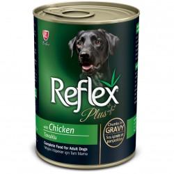 Reflex - Reflex Plus Gravy Tavuklu Parça Etli Köpek Konservesi 400 Gr