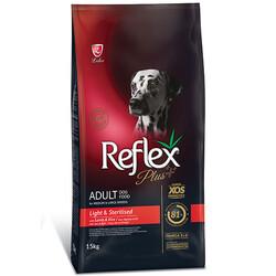 Reflex - Reflex Plus Light & Sterilised Kuzu Etli Düşük Kalori ve Kısırlaştırılmış Köpek Maması 15 Kg