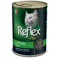 Reflex - Reflex Plus Loaf Tavuklu Pate Kedi Konservesi 400 Gr