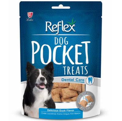 Reflex Pocket Dental Care Ağız ve Diş Sağlığı Köpek Ödülü 95 Gr