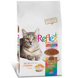 Reflex - Reflex Renkli Taneli Tavuk Etli Kedi Maması 3 Kg