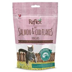 Reflex - Reflex Somon ve Morina Balıklı Mini Pul Kedi Ödülü 50 Gr