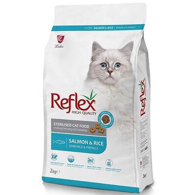 Reflex Sterilised Somonlu Kısırlaştırılmış Kedi Maması 2 Kg