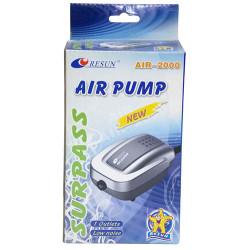 Resun - Resun Air 2000 Akvaryum Tek Çıkışlı Hava Motoru