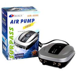 Resun - Resun Air 8000 Akvaryum 4 Çıkışlı Hava Motoru