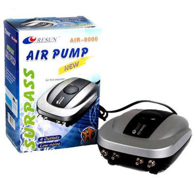 Resun Air 8000 Akvaryum 4 Çıkışlı Hava Motoru