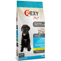 Rexy - Rexy Plus Puppy Lamb Kuzu Etli Yavru Köpek Maması 15 Kg