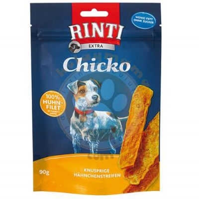 Rinti Chicko Huhn-Filet Tavuklu Köpek Ödül Şeritleri 90 Gr