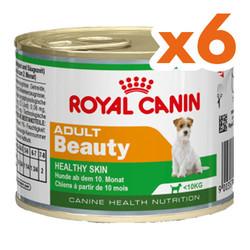 Royal Canin - Royal Canin Adult Beauty Tüy Sağlığı Köpek Konservesi 195 Gr x 6 Adet