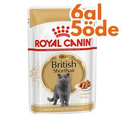 Royal Canin - Royal Canin Pouch British Shorthair Irkına Özel Yaş Kedi Maması 85 Gr - 6 Al 5 Öde