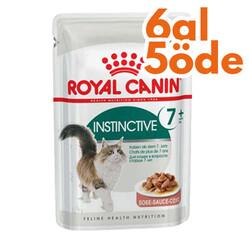 Royal Canin - Royal Canin Gravy Instinctive +7 Yaşlı Kedi Yaş Maması 85 Gr - 6 Al 5 Öde