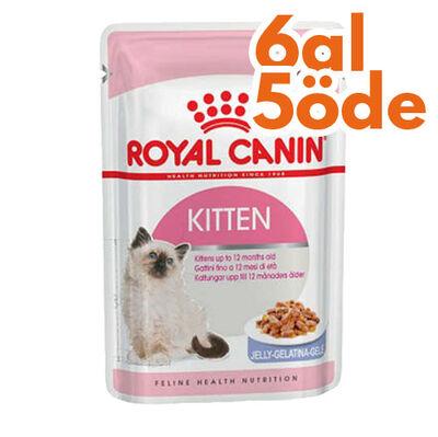 Royal Canin Jelly Kitten Instinctive Yaş Yavru Kedi Maması 85 Gr - 6 Al 5 Öde