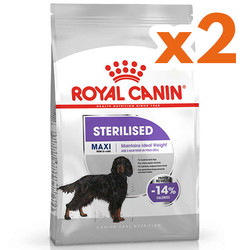 Royal Canin - Royal Canin Maxi Sterilised Büyük Irk Kısırlaştırılmış Köpek Maması 9 Kgx2 Adet
