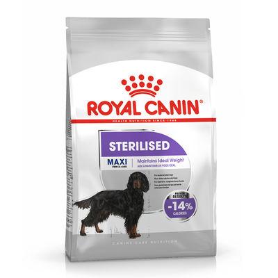 Royal Canin Maxi Sterilised Büyük Irk Kısırlaştırılmış Köpek Maması 9 Kg+10 Adet Temizlik Mendili