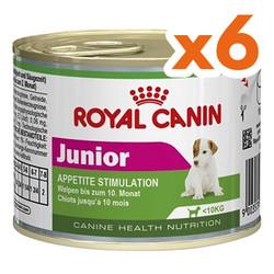 Royal Canin - Royal Canin Mini Junior Yavru Köpek Konservesi 195 Gr x 6 Adet