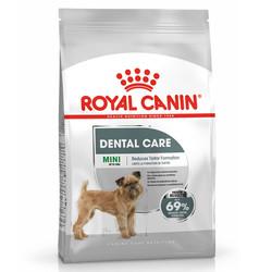 Royal Canin - Royal Canin Mini Dental Küçük Irk Ağız ve Diş Sağlığı Köpek Maması 3 Kg+3 Adet Temizlik Mendili