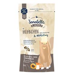 Sanabelle - Sanabelle Crispies Tavuk Etli ve Sütlü Kedi Ödülü 55 Gr