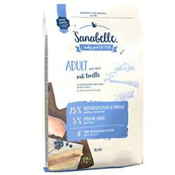 Sanabelle - Sanabelle Forelle Alabalıklı Kedi Maması 10 Kg + 10 Adet Temizlik Mendili