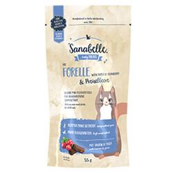Sanabelle - Sanabelle Forelle Snack Trout Alabalık ve Kızılcık Kedi Ödülü 55 Gr