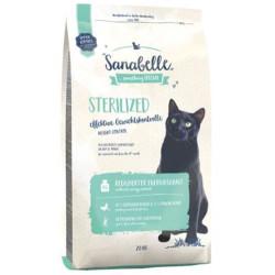 Sanabelle - Sanabelle Sterilised Kısırlaştırılmış Tahılsız Kedi Maması 10 Kg+10 Adet Temizlik Mendili